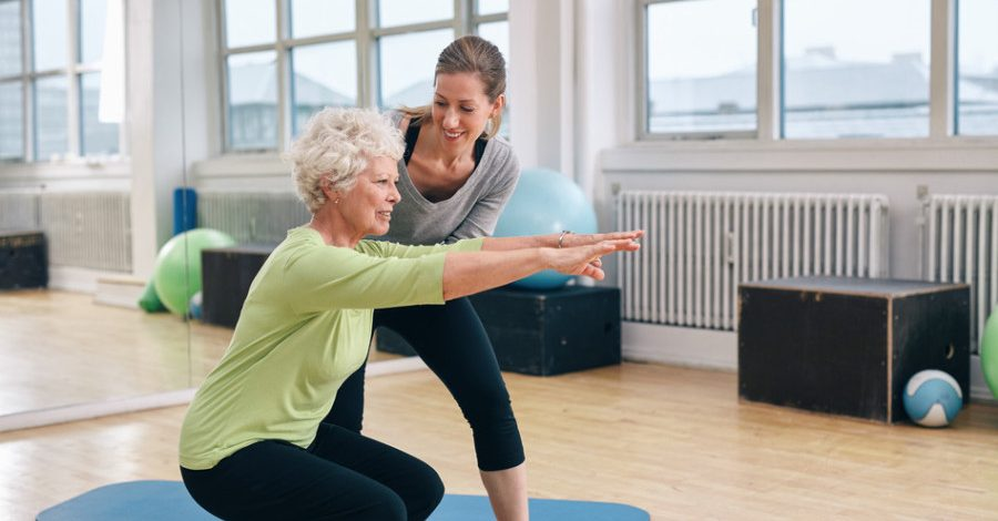 Exercise for ladies 50 Plus
